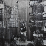 #peterwesth-Peter-Westh-@peterwesth-twin-towers-#twintowers-newyork-popart-9:11-anniversary-painting-fineart-photography-black-white
