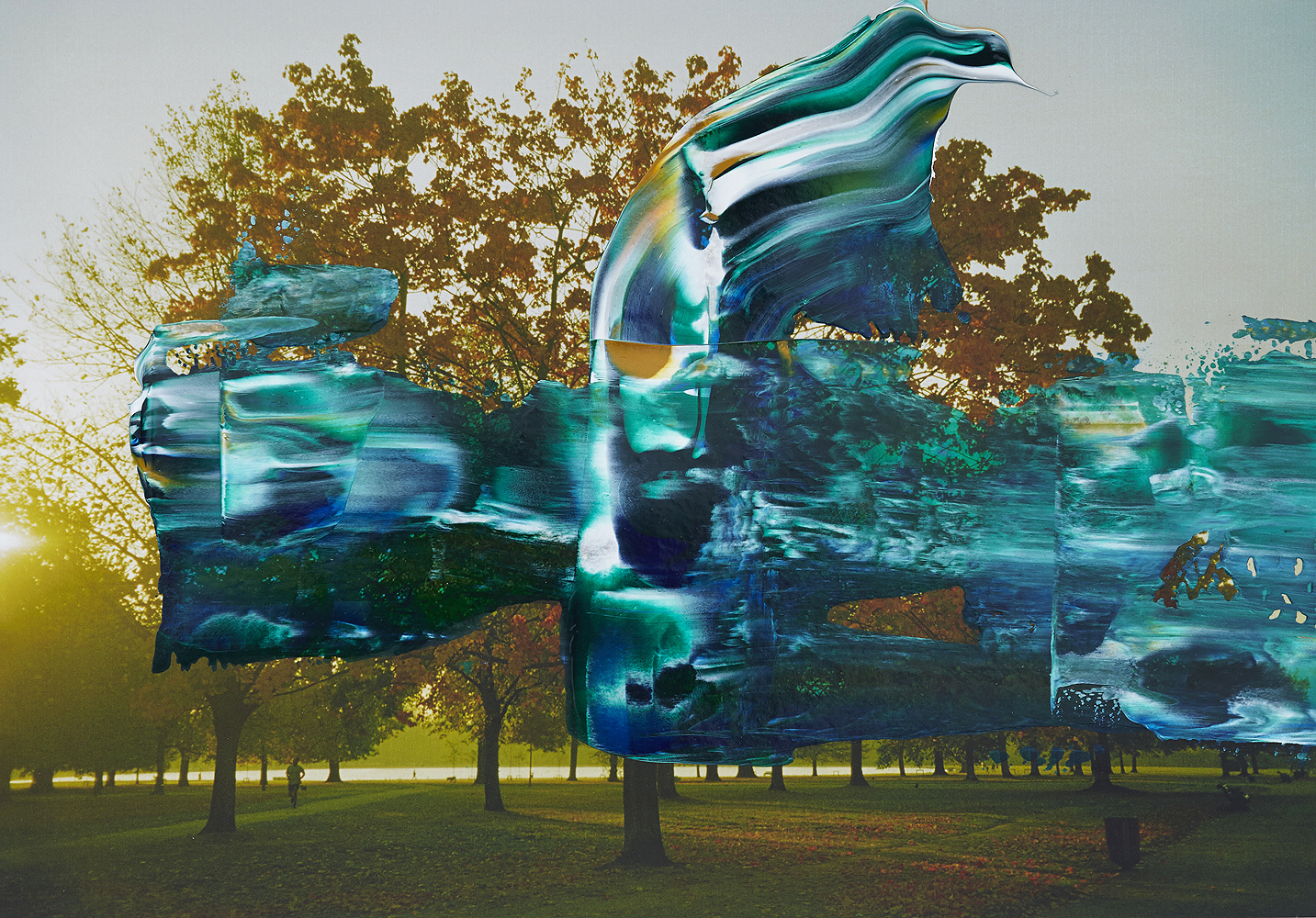 #painting-#photography#fineart#popart-#peterwesth-Peter Westh-@peterwesth-london-hydepark-trees-park