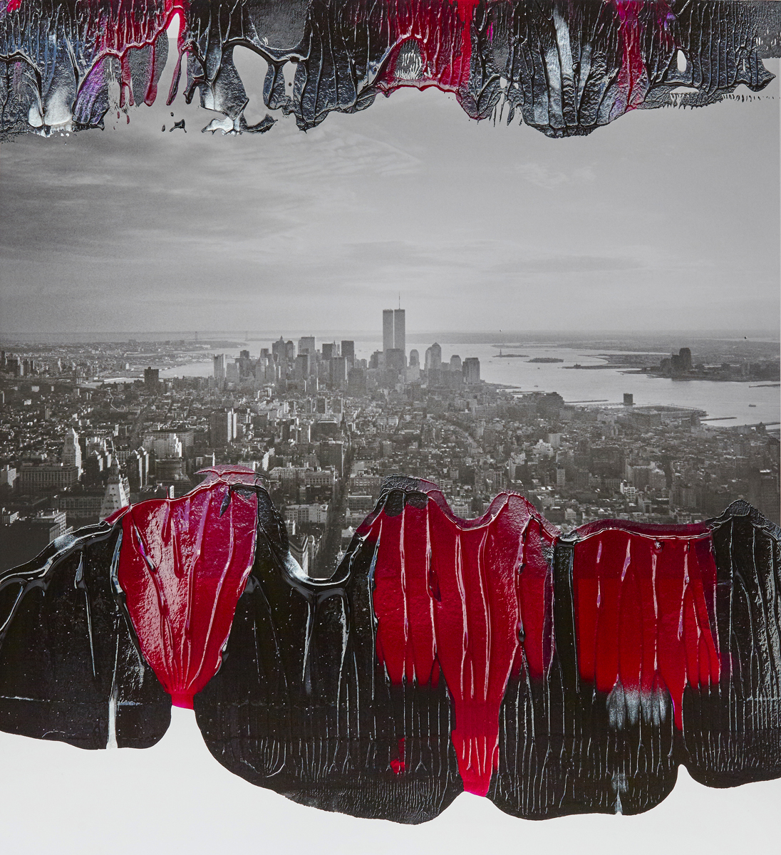 #peterwesth-Peter-Westh-@peterwesth-twin-towers-#twintowers-newyork-popart-9:11-anniversary-painting-fineart-photography
