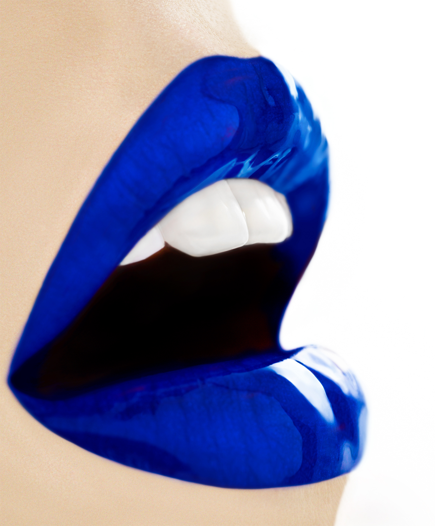 #peterwesth-Blue-Lust-#painting-#photography#fineart#popart-#peterwesth-Peter Westh-@peterwesth-lips-lipstic-teeth-beauty