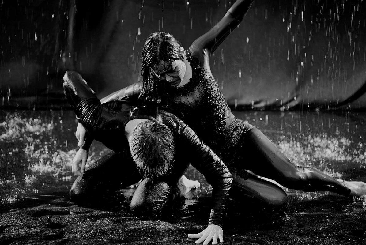 Randolph & Schmeinstein - Rain - Tango - #photography - #fineart - #popart - #peterwesth - Peter Westh - @peterwesth - one